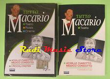 DVD film+ libro TUTTO MACARIO Achille ciabotto medico condotto TEATRO no vhs(D3)