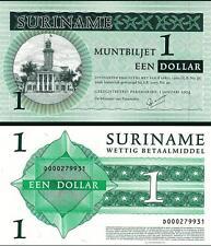SURINAM SURINAME 1 DOLLAR 2004 UNC P.155