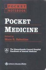 Pocket Notebook: Pocket Medicine by Marc S. Sabatine (2000, Book, Other)