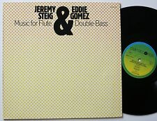 Jeremy monte/Eddie Gomez Music for Flute & Double Bass ORIG CMP LP MINT -