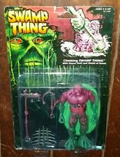 Swamp Thing CLIMBING SWAMP THING w/Bayou Staff & Shield of Reeds Action Figure!