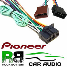 PIONEER SPH-DA110 Car Radio Stereo 16 Pin Power Wiring Harness Loom ISO Lead