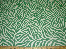 ~3 YDS~TIGER ZEBRA ANIMAL STRIPES~WOVEN UPHOLSTERY FABRIC FOR LESS~