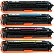 NON-OEM 1 SET TONER CARTRIDGE HP 128A COLOR LASERJET CM1415FNW CP1525NW CP1525