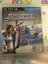 Sports Champions GAME Sony Playstation 3 PS PS3 CHAMPION SPORT