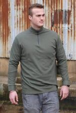 NEW - XL French Norgie Shirt - Olive - Long Sleeve Thermal Top  - Army Surplus