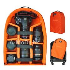 Waterproof luggage DSLR Camera Case insert Backpack For Nikon Canon Olympus