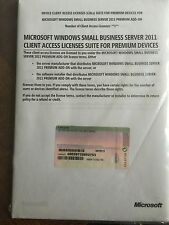 MS Windows Small Business Server 2011 premium add-on cal Suite - 1 Device cal