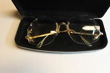 VINTAGE WOMEN`S POLARIS PRESCRIPTION RIMLESS GLASSES MADE IN  SWEDEN