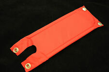 Old school bmx costume raleigh brûleur made in années 80 rouge guidon tige crash pad