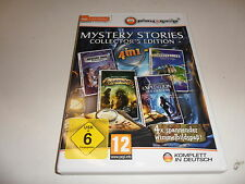 PC  Mystery Stories: Collector's Edition 4in1