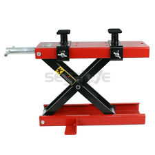 Dirt Bike ATV Scissor Center Jack Mini Lift Crank Floor Stand 1100 LB Motorcycle