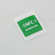 12 NFC Tags Stickers 29mm x 29mm NTAG215 Android Nokia Samsung LG Windows S5 S6!