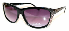Guess Womans Sunglasses 7116 Blk New  Genuine guess W Pouch