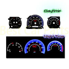 BLACK 05-09 Scion tC MT INDIGLO GLOW BLUE/WHITE EL REVERSE GLOW GAUGES