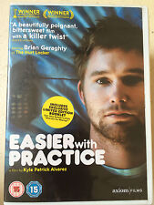 Jeanette Brox Eugene Byrd EASIER WITH PRACTICE ~ 2003 American Indie Film UK DVD
