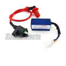 Racing CDI + Ignition Coil For Scooter Honda NQ50 NB50 Elite Spree SA50 CH80 DIO