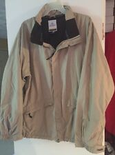 BURTON BIOLITE mens snowboard ski jacket coat size L large beige EUC