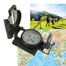 Pocket Outdoor Military Army Hiking Camping Lens Survival Lensatic Compass New W