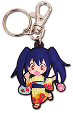 **License** Fairy Tail PVC Keychain SD Wendy Marvell Yukata #36869