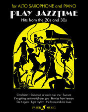 Play Jazztime Jazz Solo Piano Play ALTO SAX SAXOPHONE SONGS FABER Music BOOK