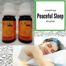 Sleep Essential Oil Blend Aromatherapy Kit - Slumber & Grounding Blends 12mL
