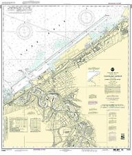 NOAA Chart Cleveland Harbor, including lower Cuyahoga River 37th Edition 14839