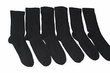 12 pairs mens extra wide comfort fit socks for diabetics.black