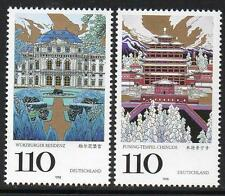 GERMANY MNH 1998 SG2863/4  UNESCO - Historical- and Cultural Inheritance