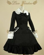 Cosplay Vintage Gothic Lolita Fantasy Cute Coat Dress