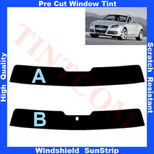 Pre Cut Window Tint Sunstrip for Audi TT-Cabriolet 2007-2010 Any Shade