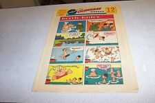 COMICS THE OVERSEAS WEEKLY 28 AUGUST 1960 BEETLE BAILEY THE KATZENJAMMER KIDS