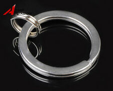 Stainless Steel Key Ring Keychain 25mm Split Ring for Surefire Fenix Flashlight