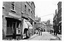 pt3260 - Pontefract , Meat Market , Ropergate , Yorkshire - photo 6x4