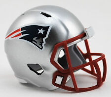 NEW NFL American Football Riddell SPEED Pocket Pro Helmet NEW ENGLAND PATRIOTS