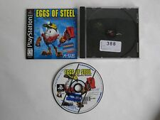 Eggs of Steel - Blockbuster Exclusive Rental *Rare* Playstation 1 2 PS1 Complete