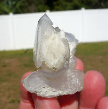 Awesome FADEN QUARTZ Clear Crystal DT Points Tabular Self Standing