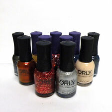 ORLY and ORLY FX Nail Polish Many Assorted Colors Lot of 11 READ DESCRIPTION