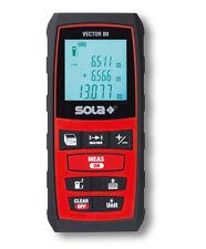 SOLA VECTOR 80 Laser Entfernungsmesser Distanzmesser Messgerät 80m