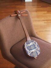 Okinawan Traditional 3String Music Instrument Mini SANSHIN Ukulele Size Japan