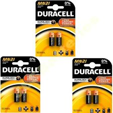 6 x DURACELL MN21 A23 k23A LRV08 Pile Alcaline 12v (3 x 2 paquets)