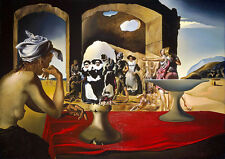 "Salvador Dali ""Slave Market"" reproduction 8.3X11.7 canvas print"