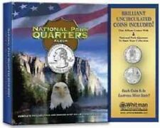 National Park Quarters Album with Coins by Whitman Publishing Hardcover Book (En