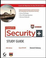 CompTIA Security+ Study Guide : Exam SY0-301 by Emmett Dulaney (2011,...