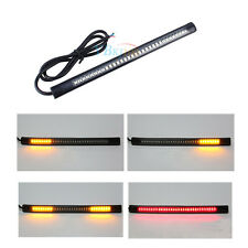 Soft Flexible 48LED Light Strip Rear Tail Turn Signal Light For Motorcycle