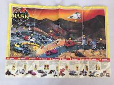 M.A.S.K RAZORBACK instruction manual booklet poster mask kenner
