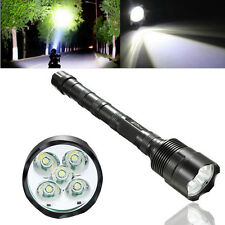 NEW Outdoor Tactical Powerful 30000LM 5XT6 XM-L CREE LED Flashlight Torch Light