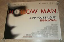 HOLLOW MAN movie poster KEVIN BACON, ELISABETH SHUE - 30 x 40 inches