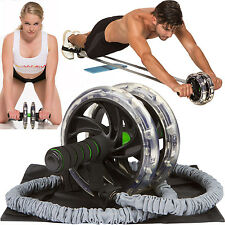 AB-WOW Ab Roller Abdominal Exercise Equipment with Bonuses, Ab Wheel Roller