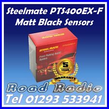Steelmate PTS400ex-F Matt Black 4 Front Eye Parking Sensors